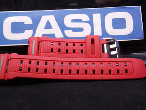 Casio watchband G-9000 MX-4 Red Mud Resist Dual Illuminator. . Watchband