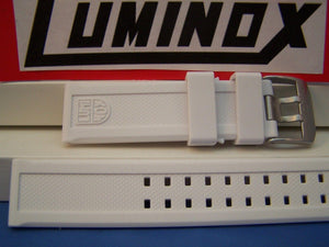 Luminox WatchBand ColorMark White Navy Seals 3050. 23mm Resin
