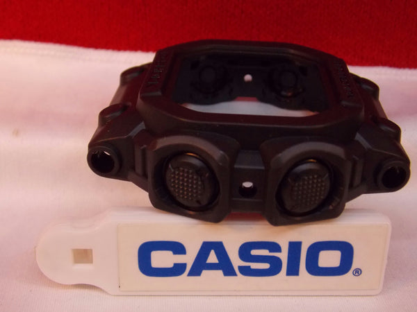 Casio Watch Parts GX-56 GB-1 Bezel ALL BLACK & GXW-56 GB-1.Shell w/PushPads