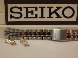 Seiko WatchBand SNE031,SNE032,SNE034 Bracelet 18mm Steel Silver Tone. Watchband