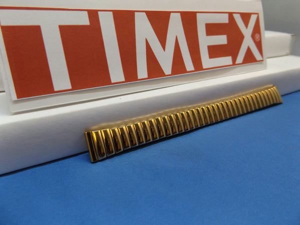 Timex watchband 13mm Gold Tone Expansion/Stretch Bracelet Ladies Watchband