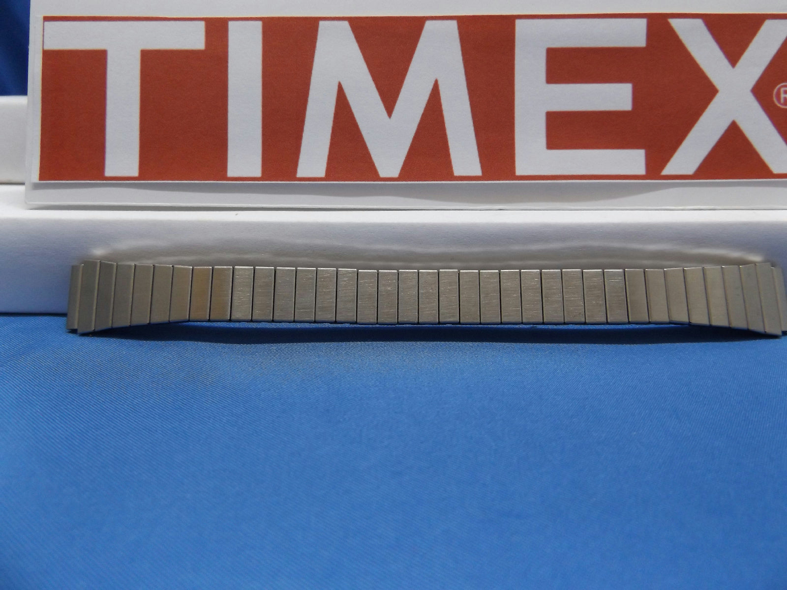 Timex watchband 13mm Silver Tone Expansion/Stretch Steel Bracelet Lds Watchband