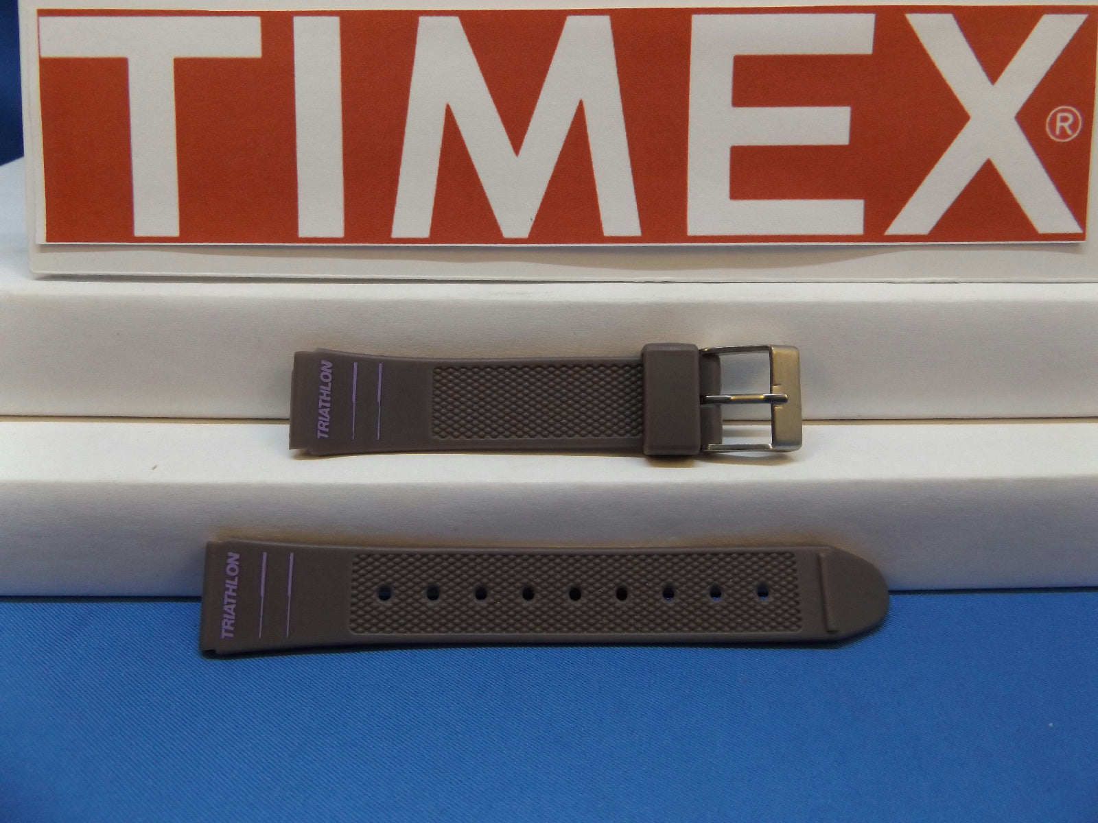 Timex watchband 60151 Triathalon Purple Womens  14mm. New Band 1994 Model