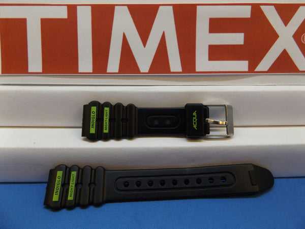 Timex watchband 16mm Acqua Indiglo Night-Light Ladies Sports . Watchband