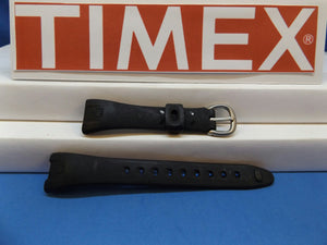 Timex watchband T53161A.All Black Ladies  for 30 Lap Ironman.Caseback #655