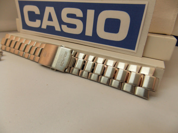 Casio watchband EFR-528 D Bracelet Edifice Silver Tone All Steel