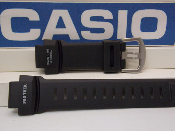 Casio watchband PRG-260,PRW-550,PRW-3500.ProTrek Triple Sensor Black