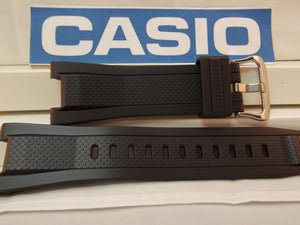 Casio watchband GST-210, GST-S100,GST-W110 Black Rubber .G-Shock Watchband