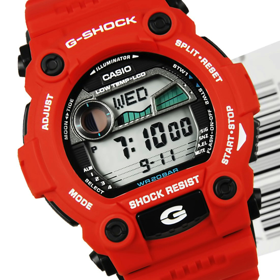 Casio G-7900A-4. Red G-Shock Watch. New in Box w/ Instructions&Warranty
