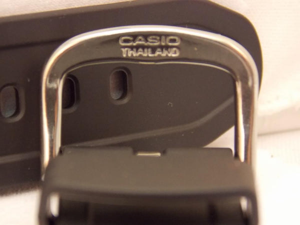 Casio watchband BG-6903, BGD-140 Baby-G Black Resin Watchband.