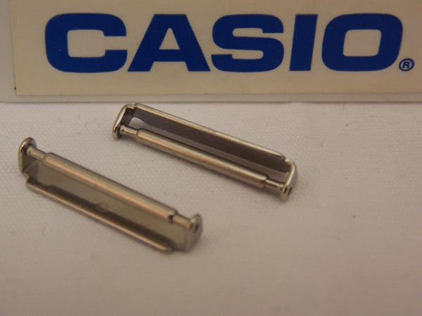 Casio Watch Parts WVA-430 Attaching Clips and Spring Bars - One Pair