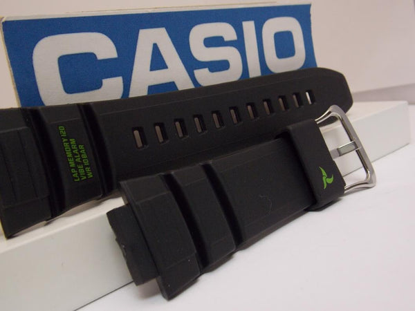 Casio watchband STB-1000 Black Resin  for Casio Bluetooth. Watchband