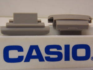 Casio Watch Parts MSG-135, MSG-134 Lugs Gray Pair. Cover End Piece.