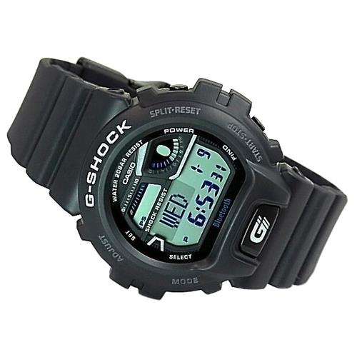 Casio watchband DW-6900 BW-1,GB-6900: AA-1, AB-1 . W/ Black Steel Buckle.
