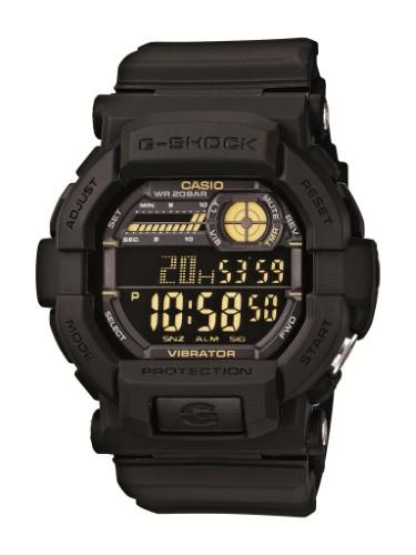 Casio watchband GD-350 Black Resin  for G-shock Vibrator Watch.