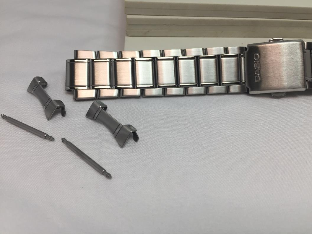 Casio watchband MDV-106 D Bracelet. 22mm All Stainless Steel