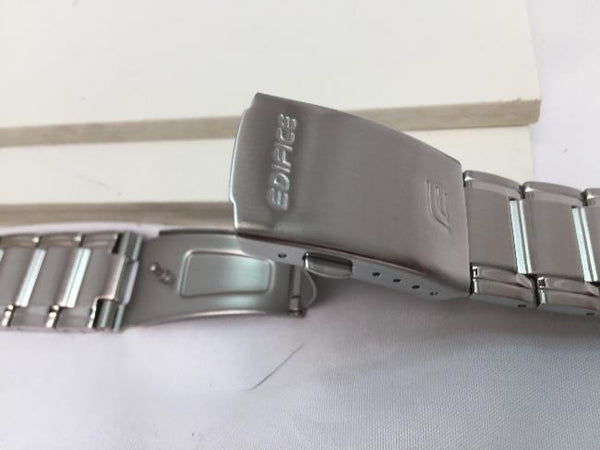 Casio watchband EFR-522 Bracelet for Edifice Watch.Stainless Steel Silver Color