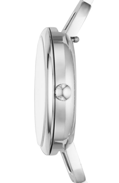 Fossil Ladies Watch ES4390 Polished Stainless Steel Bangle Style. Contemporary