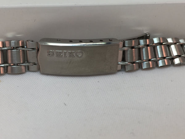 Seiko Original Watchband/Bracelet Ladies Unknown Model. 11mm Stainless Steel.