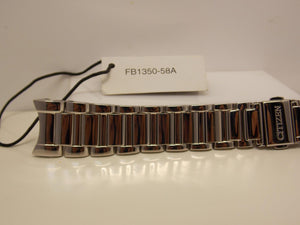 Citizen Watchband.Ladies  Bracelet For Model FB1350-58A. Silver Tone Steel.