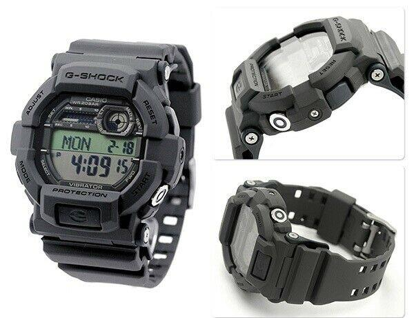 Casio Watchband GD-350 -8 DARK GRAY  for Vibrator Vibration Alarm Watch