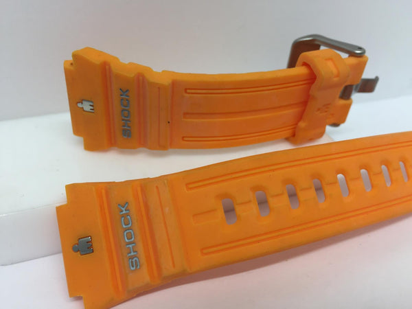 Timex Watchband.Orange Ironman/Shock Strap #5K585 18mm at Lugs 25mm at Shoulder