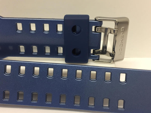 Casio Watchband G-8900 CS-8 Original Blue Rubber G-Shock Strap.