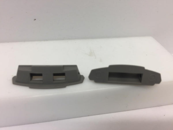 Casio Watchparts WVA-M640,WVA-M650,WVQ-M410.Cover End Piece Pair w/Spring Bars