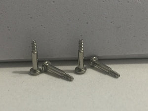 Casio Watchparts Set of 4 Band Screws for G-9000, Also Fits ( see list below )