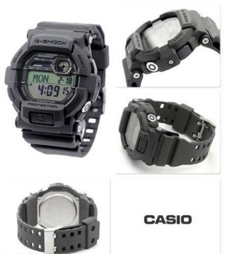 Casio GD350-8 G-shock 43mm Military Dark Gray W/Vibrating Alarm.200m Watertight