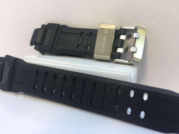 Casio Watchband GW-A1000 Original Gravity Master Strap Black.Steel Keeper/Buckle