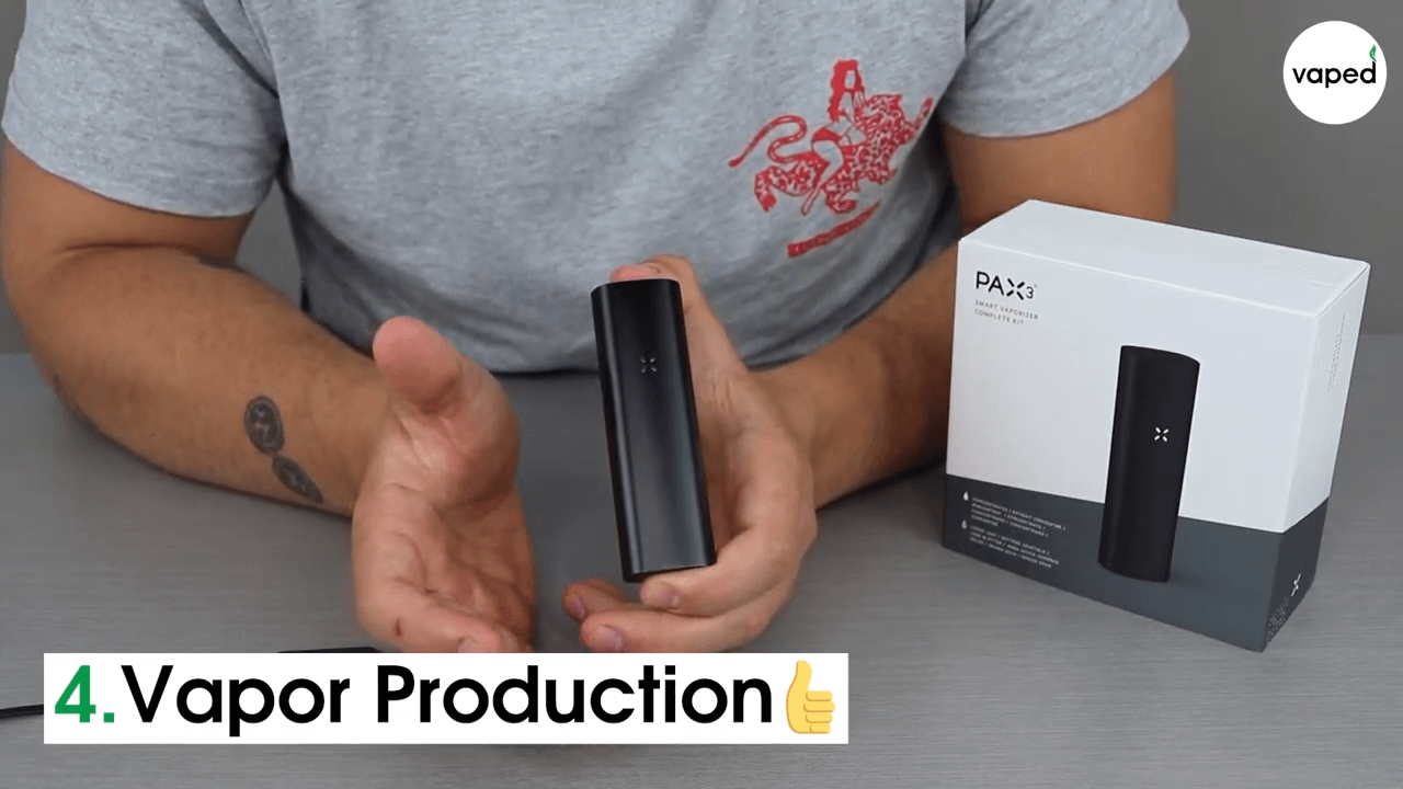 pax 3 vapor production
