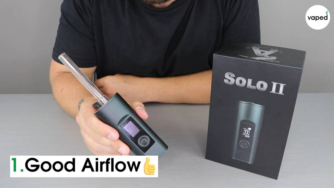 Arizer solo 2 airflow