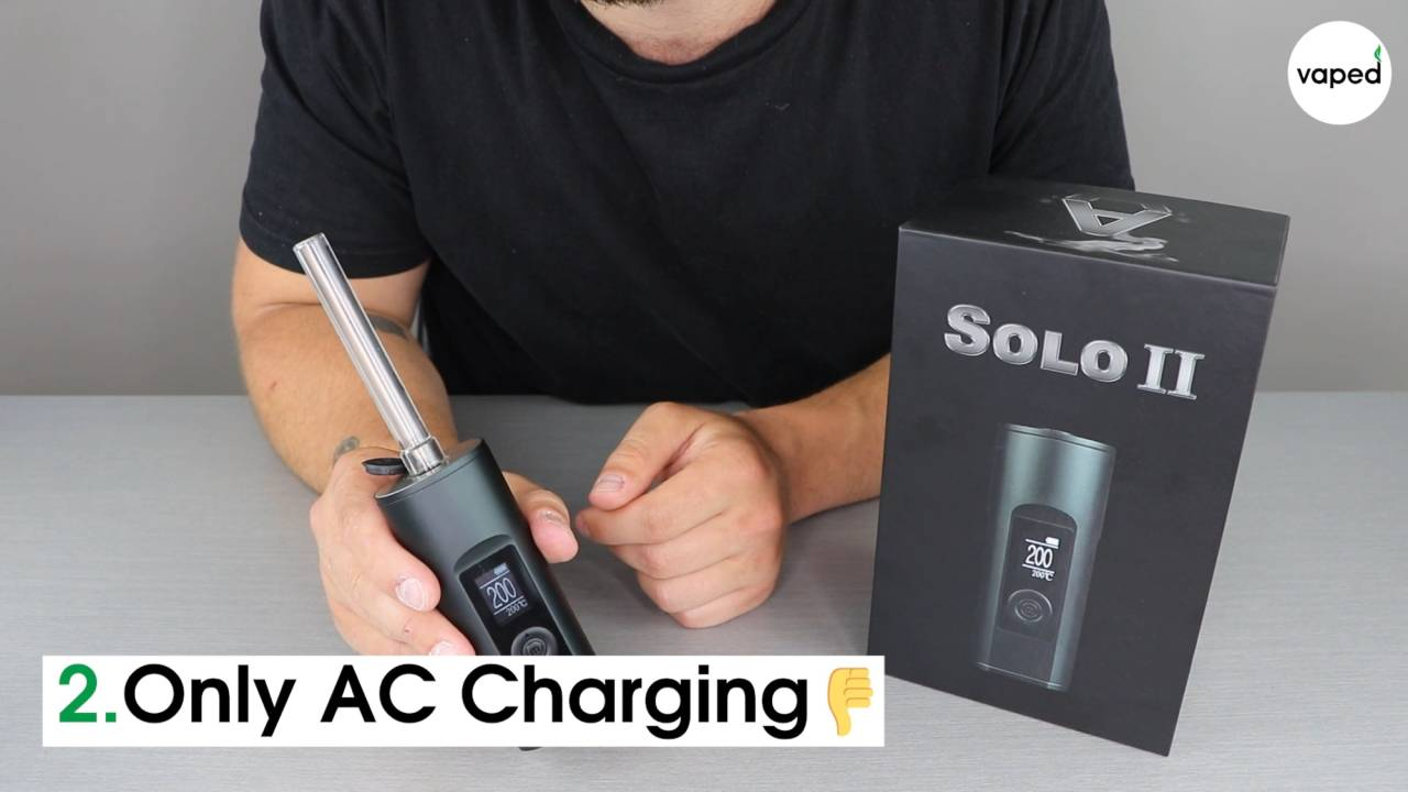 Arizer solo 2 AC charging
