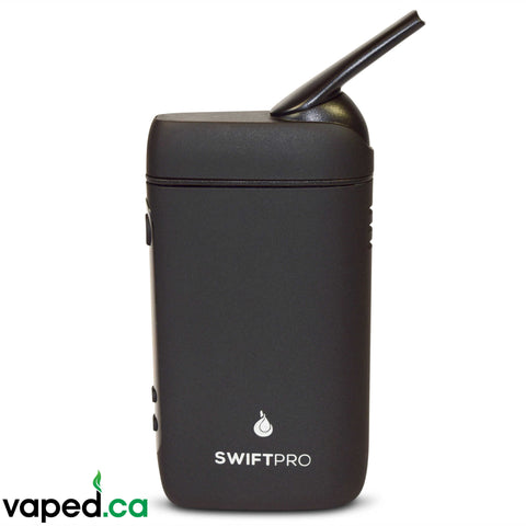 Flowermate Swift Pro convection vaporizer open mouthpiece front