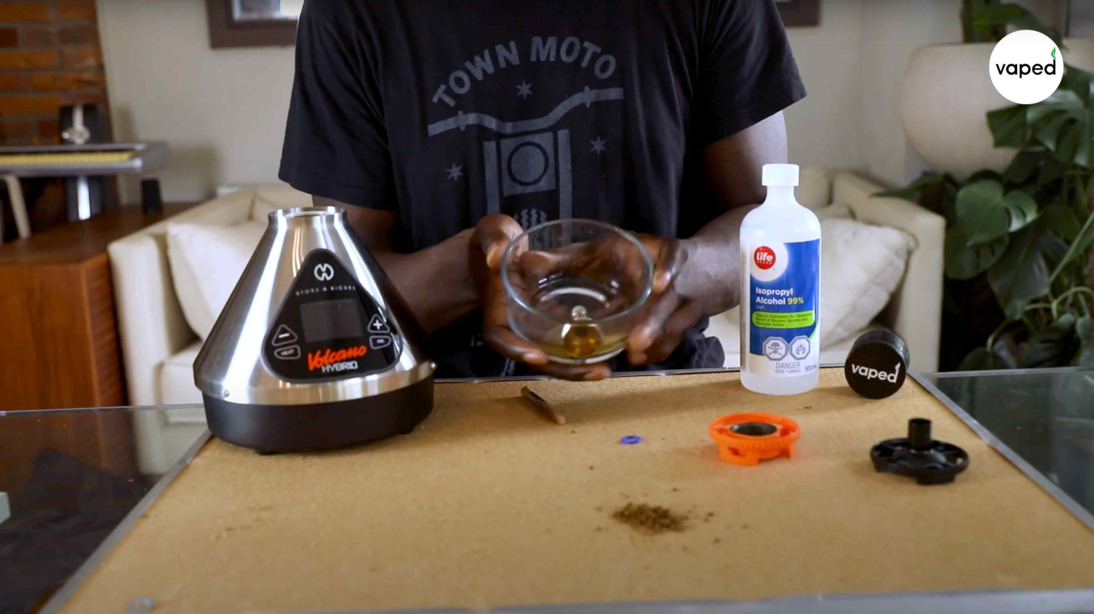 Volcano Hybrid - How to clean p2