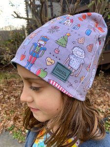 Child Christmas Winter Hat Beanie