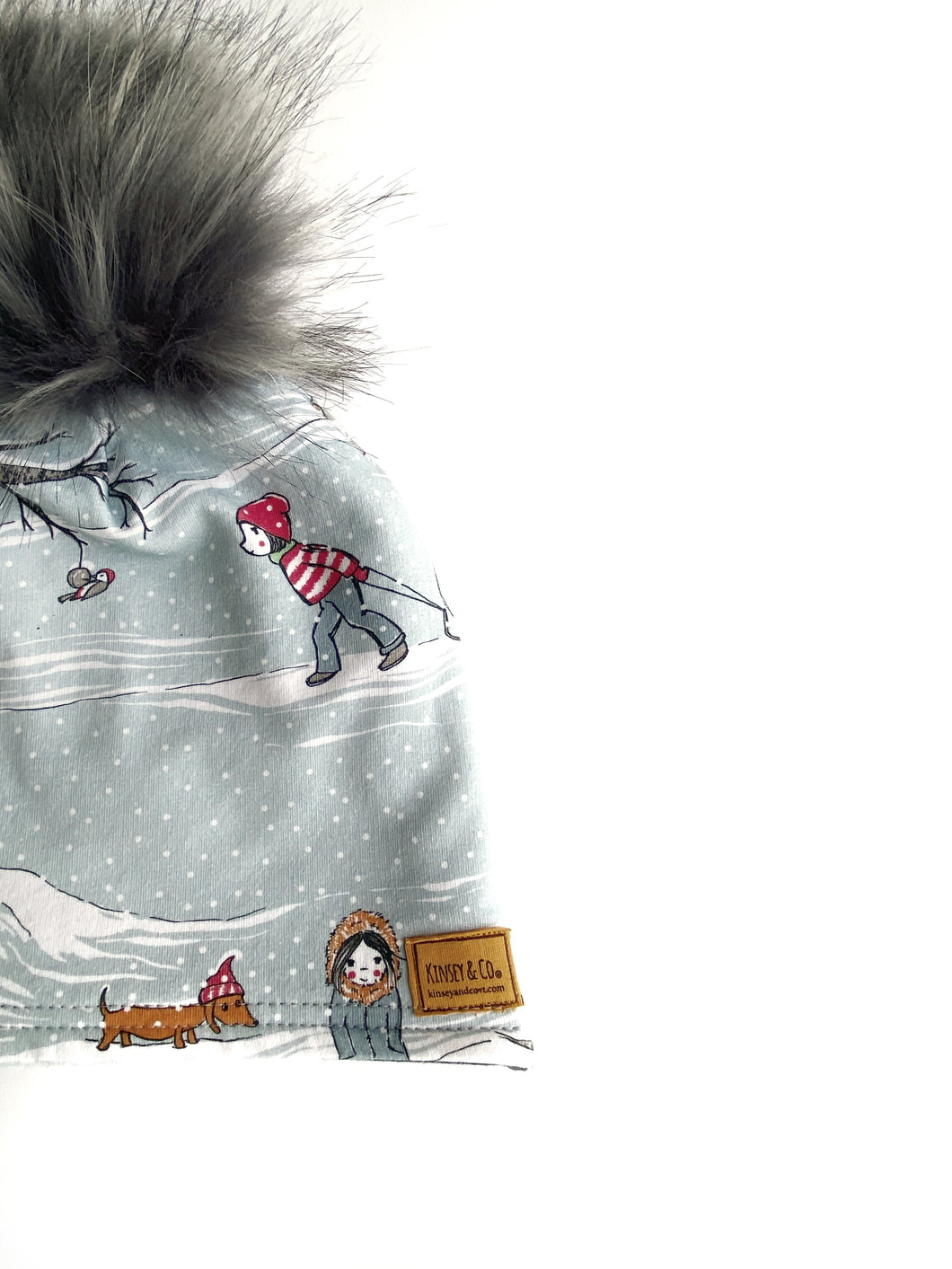 Toddler Winter Scene Winter Hat Beanie