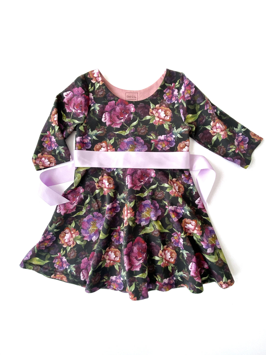 Minna Heart Back Tunic/Dress 4T Ready to Ship
