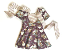 Load image into Gallery viewer, Scoop Back Bow Peplum Top 18-24mo