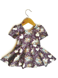 Scoop Back Bow Peplum Top 18-24mo