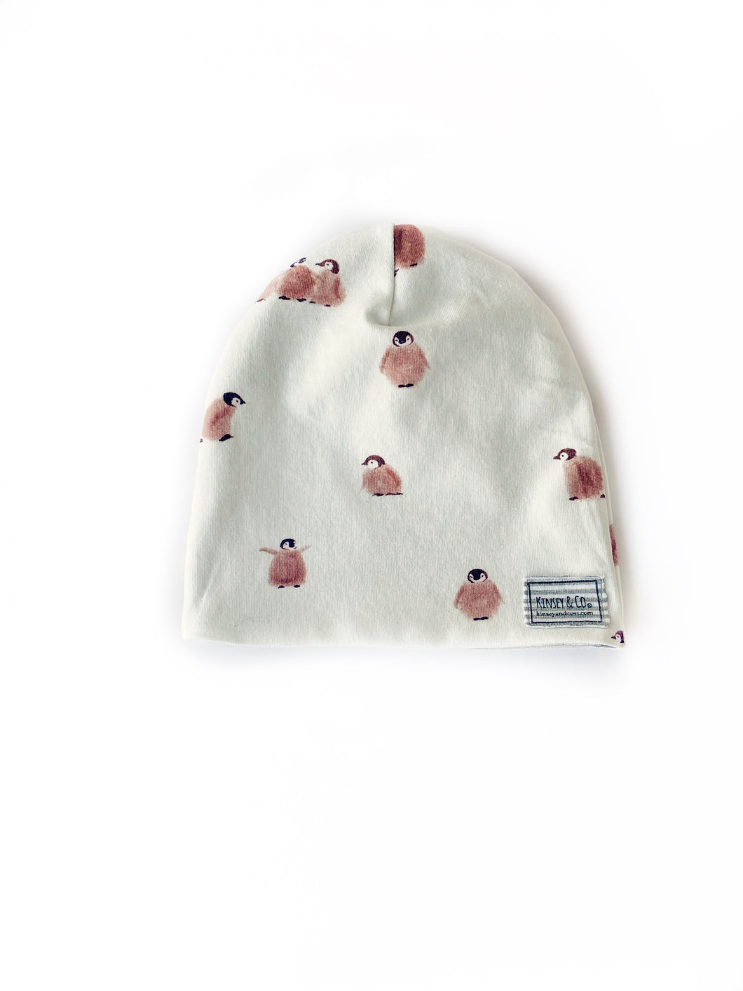 Little Penguin Winter Beanie Sizes Baby-Adult