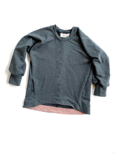 Wide Hem Lounge Sweatshirt
