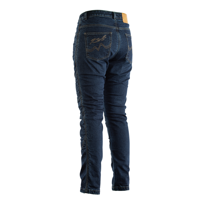 Reinforced Straight Leg CE Ladies Textile Jean