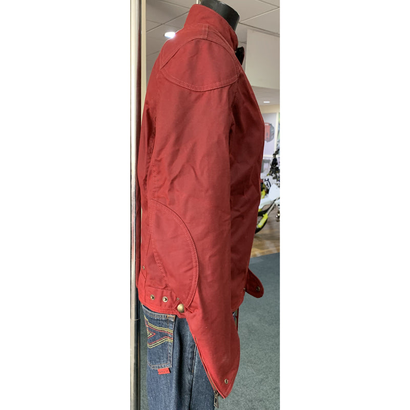 Belstaff Ariel Racing Red Textile Jacket M