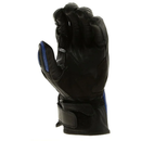RST Mens Jet Blue Leather Gloves