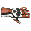RST Mens Urban 2593 Red Leather Gloves