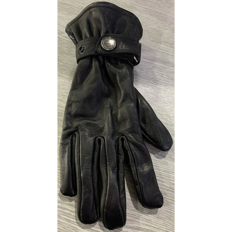 Hein Gericke RW77 Leather Black Gloves
