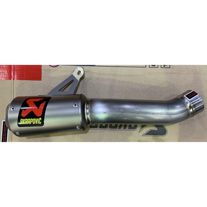 Akrapovic Titanium Silencer Slip-On Kit S-H10SO18-CBT
