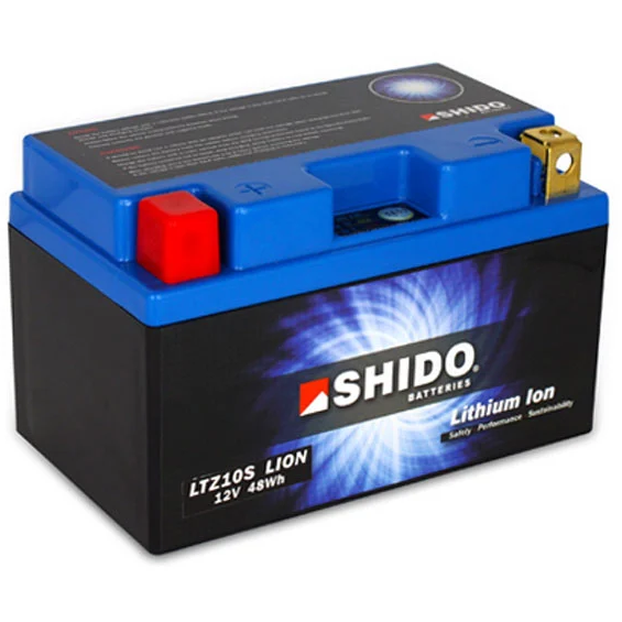 Shido Lightweight Lithium Battery LTZ10S-LION